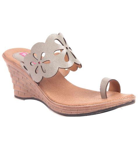 Wedges Slip On Korea 1 butterfly gray wedges heeled slip on price in india buy butterfly gray wedges heeled slip on
