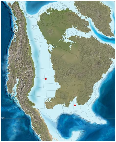Cretaceous Interior Seaway by Paleomap Of America During The Late Cretaceous 85ma