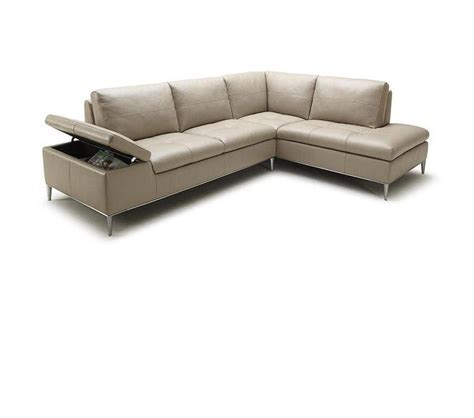 sofa with chaise sectional dreamfurniture com gardenia modern sectional sofa with