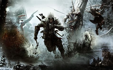 Assassin Creed 3 assassins creed 3 tapety forgimm蟇v zam茆蝎en na pc