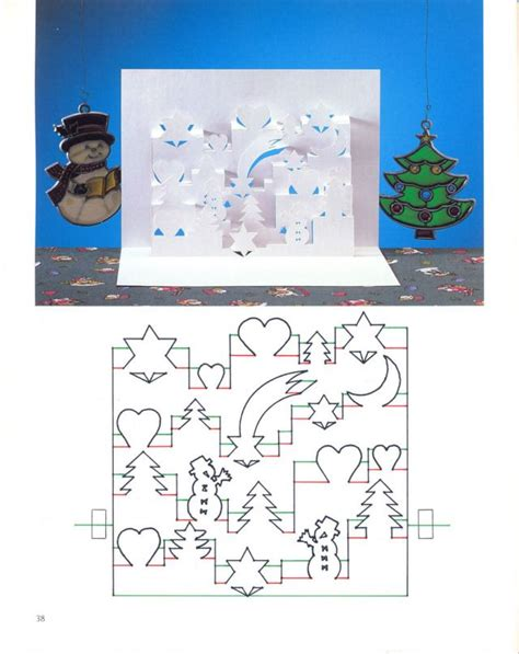 3d Birthday Card Template by 1000 Images About Pop Up Kirigami Patterns On