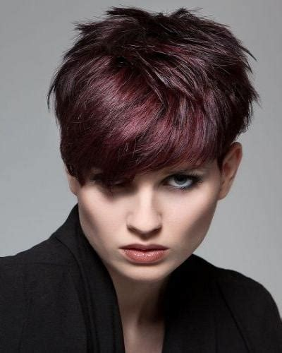 Dark Red Color Hair Cut | short dark red hair my current color short hair
