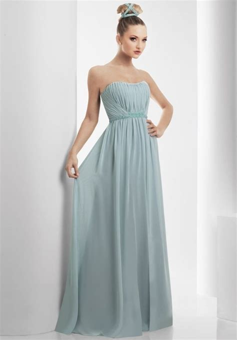 strapless gown dressed up