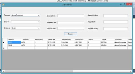 format date linq search using multiple criteria in linq codeproject