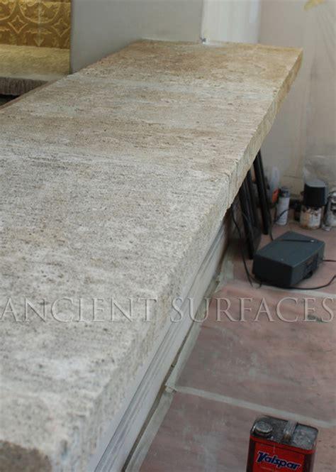 Limestone Countertops by Antique Thick Limestone Countertops Aka Foundation Slabs