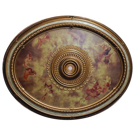 sistine oval ceiling medallion 79 quot l