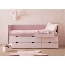 lit enfant junior avec 6 tiroirs de rangement bahia block