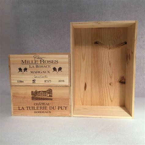 Fabriquer Meuble Caisse Vin by Grande Caisse Vin En Bois Pour Fabriquer Ses Meubles Diy