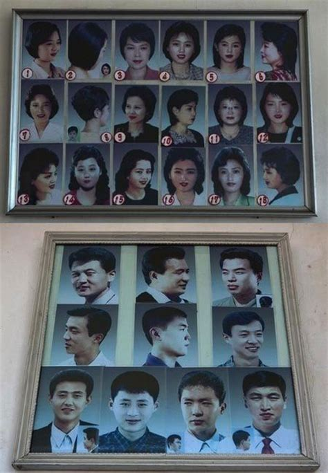 only 28 haircuts allowed in north korea north korean citizens told socialist haircuts are a thing
