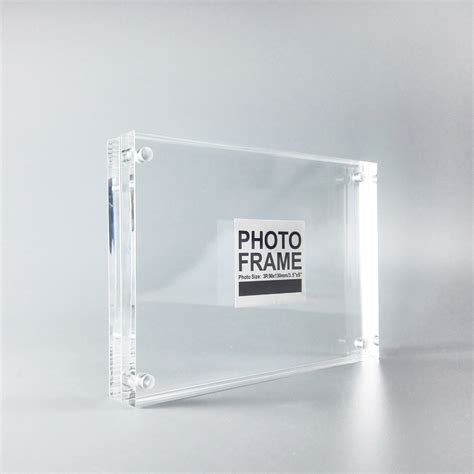 ral10 portrait free standing business card holder perspex plastic business card holders magnetic acrylic frame promotion shop for promotional magnetic acrylic frame on aliexpress