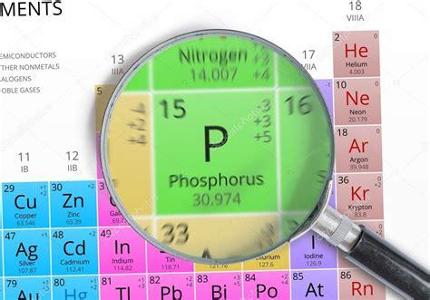 fosforo tavola periodica fosforo elemento della tavola periodica di mendeleev