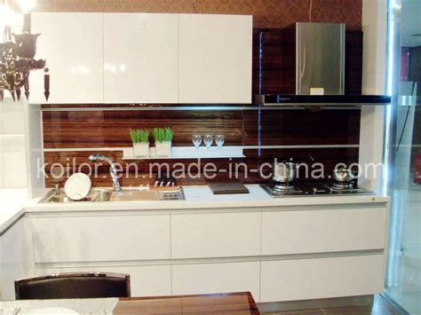 high gloss kitchen cabinets china high gloss lacquer kitchen cabinet simple space