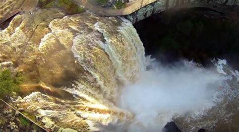 noccalula falls lights noccalula falls after the drone