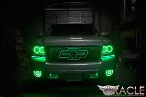 headlights that change color oracle color changing halo headlight and foglight light