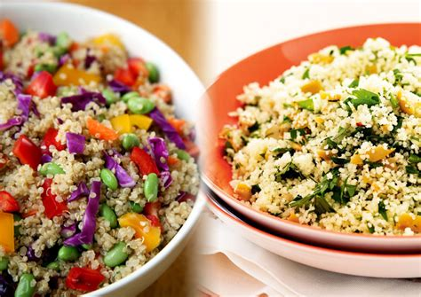 quinoa vs couscous thosefoods com