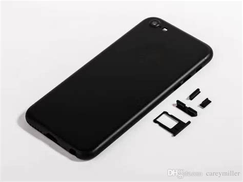 Housing Iphone 5s Like Iphone 7 Jet Black Langkaa Booss 2017 like 7 style jet black back housing for iphone 5 5s 6