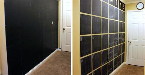 make your own wall calendar make your own wall calendar with chalkboard paint