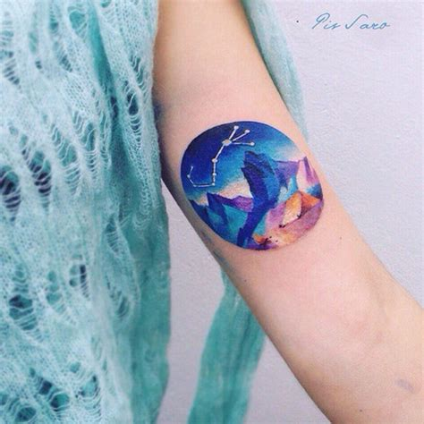 watercolor mountain tattoo the ultimate guide to mountain tattoos 70 photos