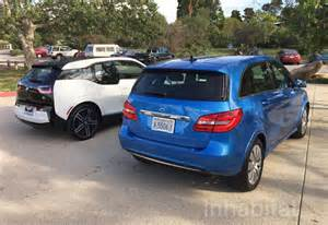 Mercedes Electric Car Bmw I3 Test Drive Bmw I3 Vs Mercedes B Class Electric