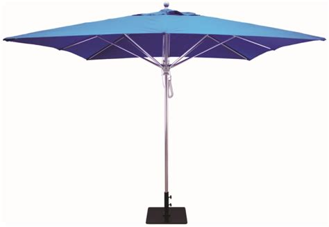 10x10 aluminum square commercial patio umbrella