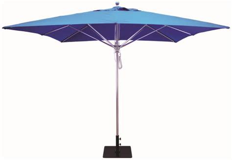 10'x10' Sunbrella B Aluminum Commercial Market Umbrellas