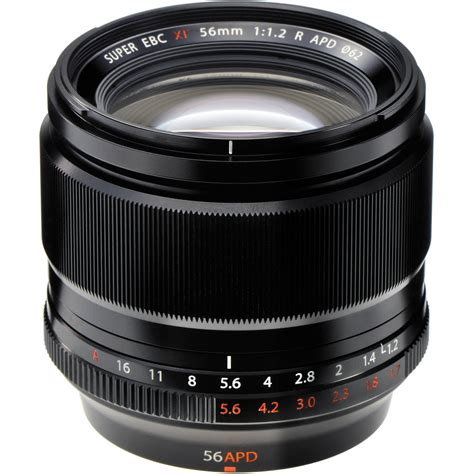 Fujifilm Lens Xf 56mm F1 2r fujifilm xf 56mm f 1 2 r apd lens 16443058 b h photo
