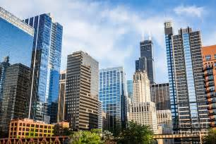 high res picture of chicago skyline city buildings