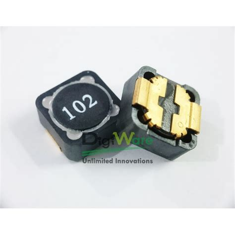 inductor 1000uh inductor 1000uh 0 4a 20 1260 dq1260 102m digiware store