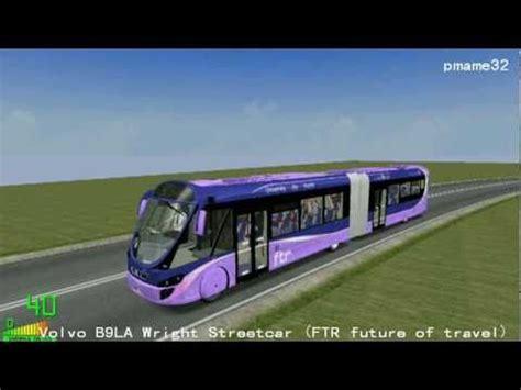 mm  volvo bla wright streetcar ftr future  travel  polish road city youtube