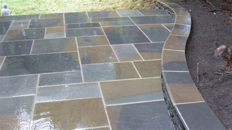 Cut Flagstone Patio by Cut Flagstone In Springfield Va 703 339 8095 For