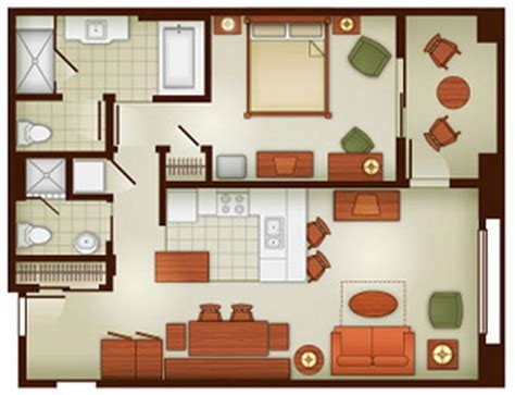 spa tower 2 bedroom layout available for rent from ej s grand dvc rental grand californian hotel spa