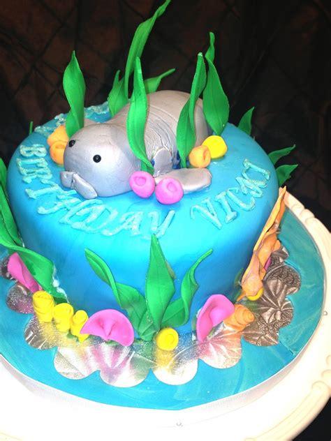 Brownies Manaree nancily s cupcake shack manatee birthday cake for vicki