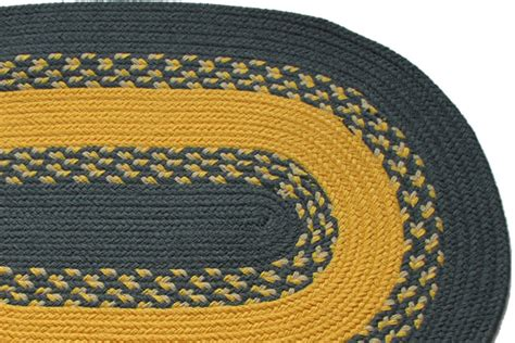 yellow braided rug 1812 williamsburg blue yellow braided rug