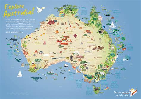 explore australia map australia australian business networking