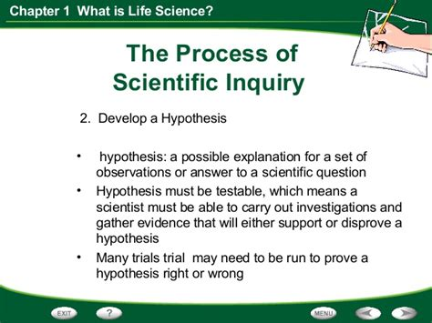 section 1 what is science life science chapter 1 section 3 scientific inquiry
