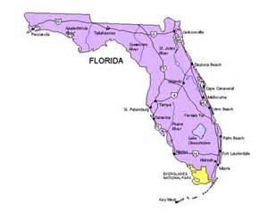 product map of florida florida map powerpoint maps