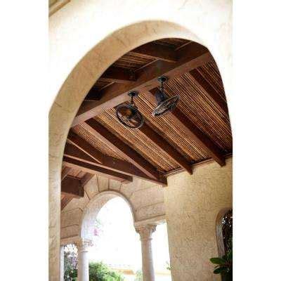 mini wall mount fan bronze ceiling fans lighting the home depot