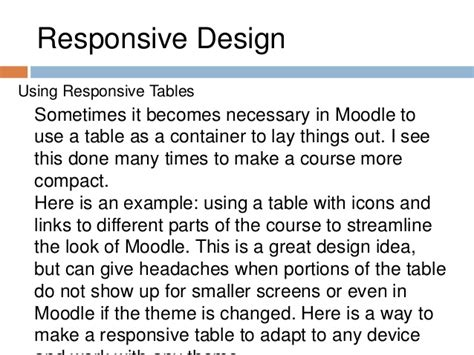 moodle themes not showing up best practices in moodle course development