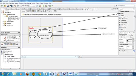 membuat form login netbeans java programming menggunakan netbeans membuat login form