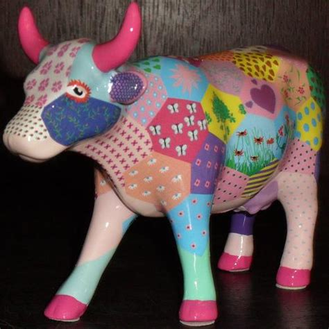 Patchwork Cow - other ornaments cow parade patchwork cow free