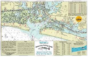 sealake carolina bogue inlet new river fish map