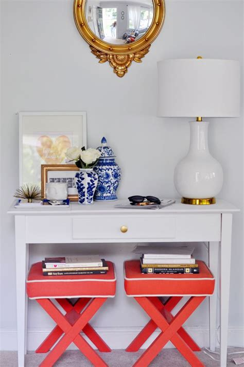 console table with bench underneath stephanie kraus designs x benches ottomans cubes