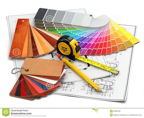 interior design tools interior design architectural materials tools and