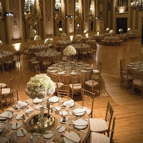 gold wedding reception ideas two pink canaries