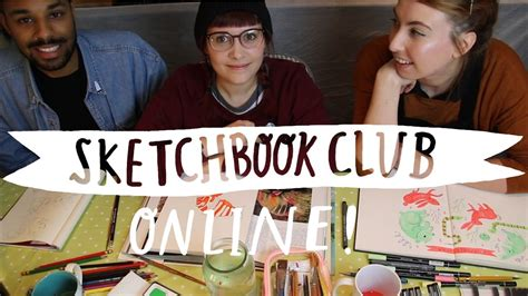 sketch book club sketchbook club episode 1 animals feat