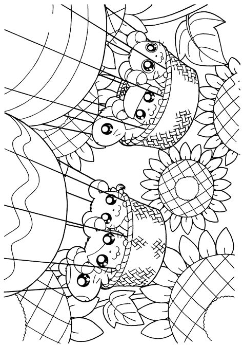 coloring page hamtaro coloring pages 244