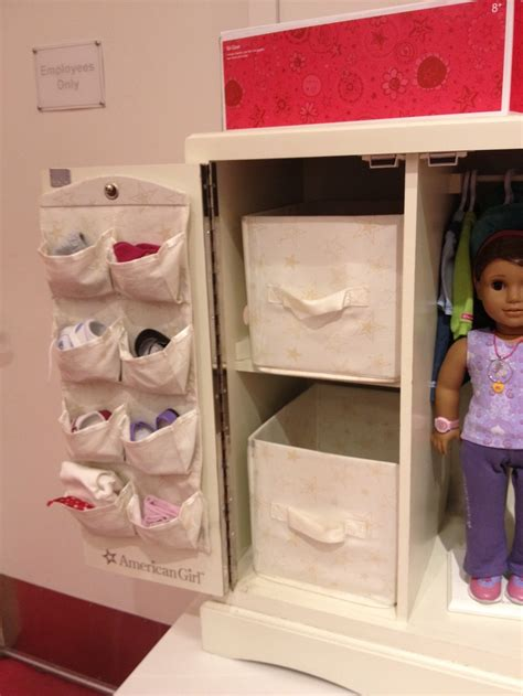 american doll storage cabinet kid gift ideas
