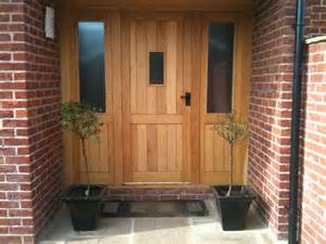 Oak Front Door Sets Doors Hortus Ligneous