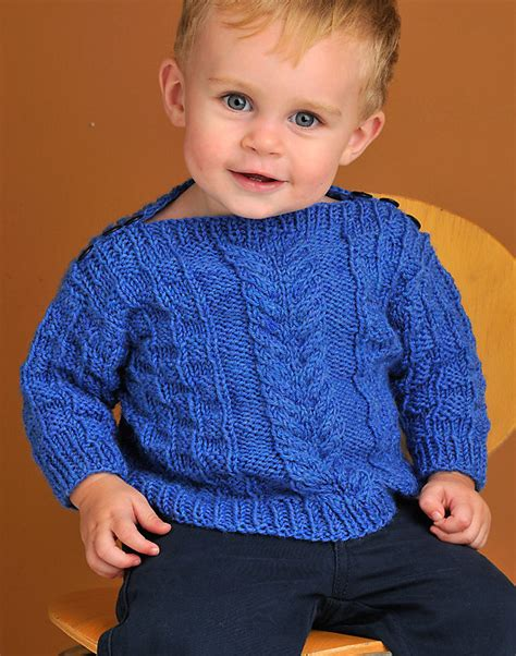 boat neck sweater knitting pattern easy on pullovers for babies and children knitting
