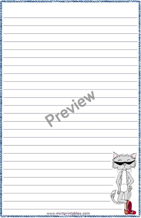 cat writing paper cat writing paper 28 images printable stationery
